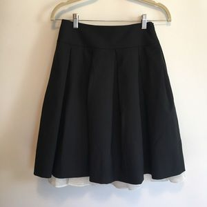 Theory Pleated Tulle Skirt